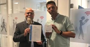 Cyber security certification pilot project between Nemko and Datek