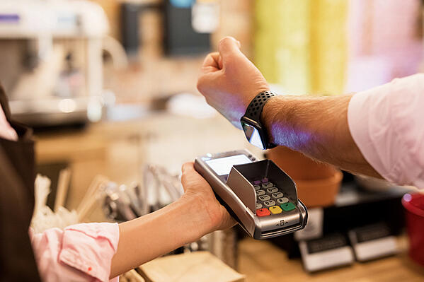 Pay with watch, cyber security product safety